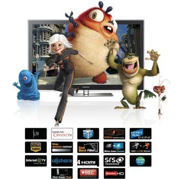 63 Samsung PS63C7000 Full HD 1080p Digital Freeview Plasma 3D TV