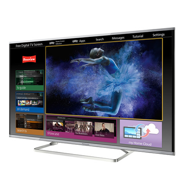 48 Panasonic TX48AX630B Ultra HD 4K Freeview HD Smart 3D LED TV