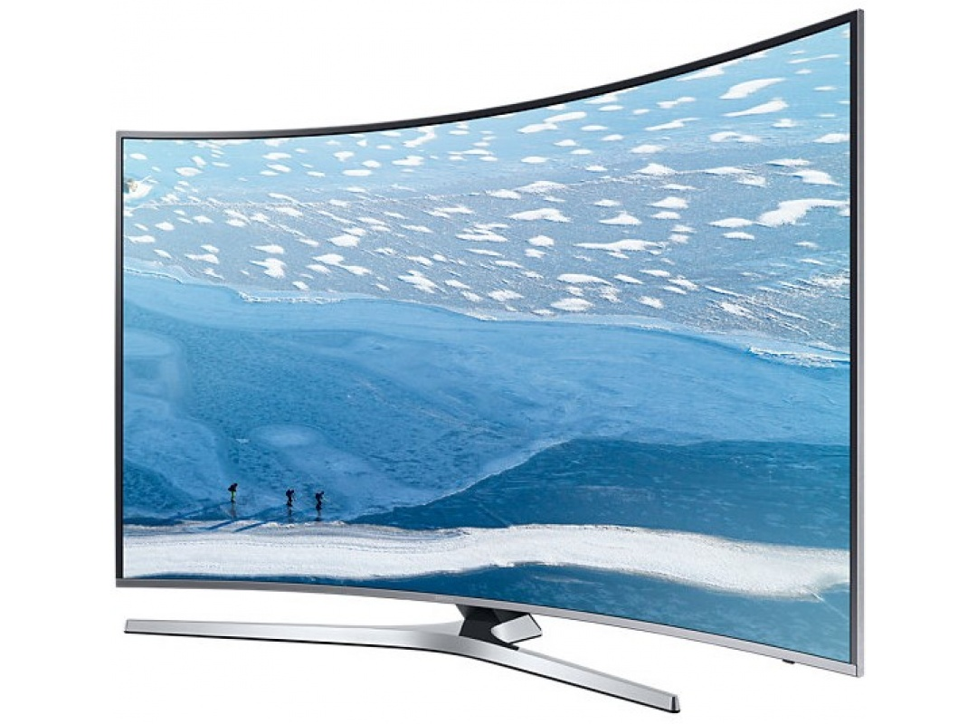 65 samsung ue65ku6680 curved 4k ultra hd hdr smart led tv. Black Bedroom Furniture Sets. Home Design Ideas