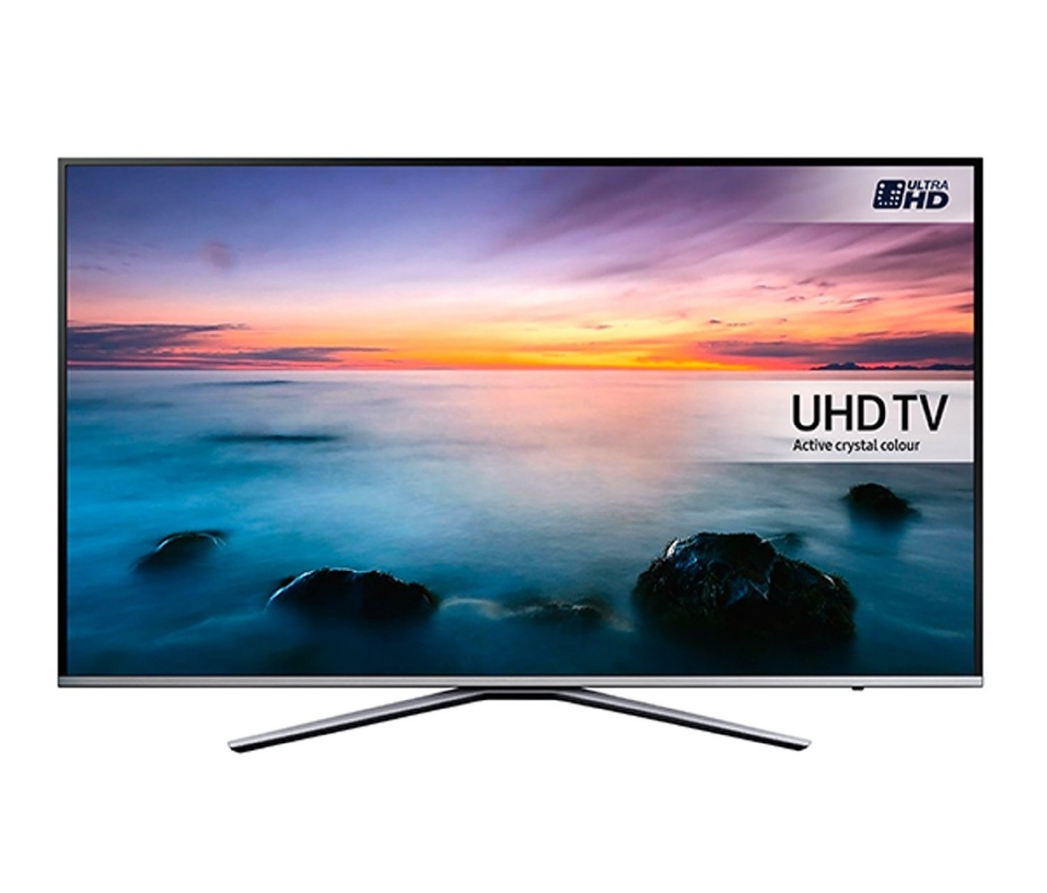 55 samsung ue55ku6400 4k ultra hd hdr freeview freesat hd smart led tv. Black Bedroom Furniture Sets. Home Design Ideas