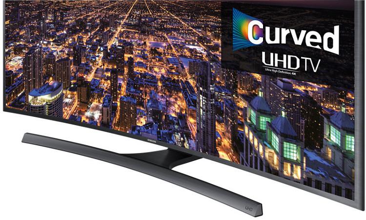 65 Samsung UE65JU6500 Curved 4K Ultra HD Freeview HD Smart LED TV