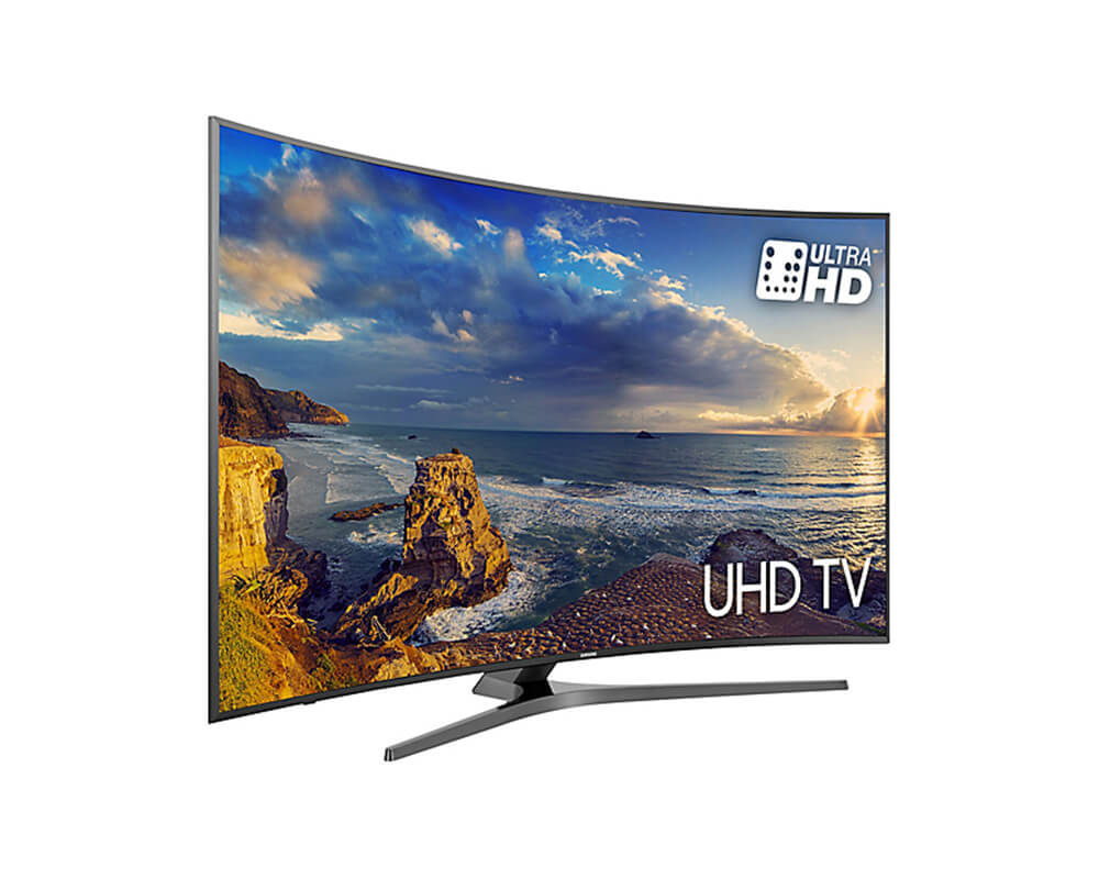 49 samsung ue49mu6670 curved ultra hd hdr 4k freeview hd smart led tv. Black Bedroom Furniture Sets. Home Design Ideas