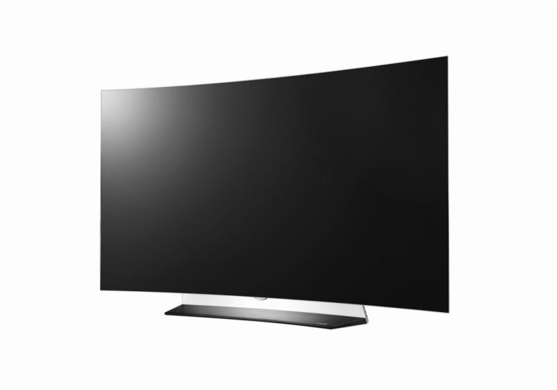 55 LG OLED55C6V 4K OLED Ultra HD HDR Curved Freeview HD Smart 3D TV