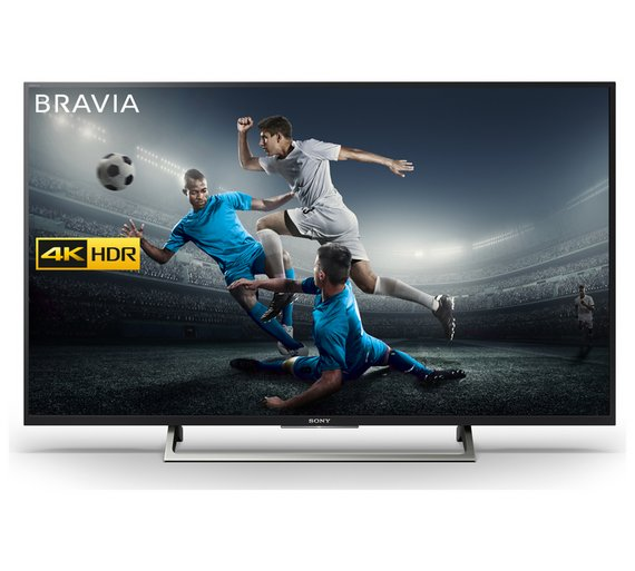 55 Sony KD55XE7002 4K Ultra HD HDR Freeview HD Smart LED TV