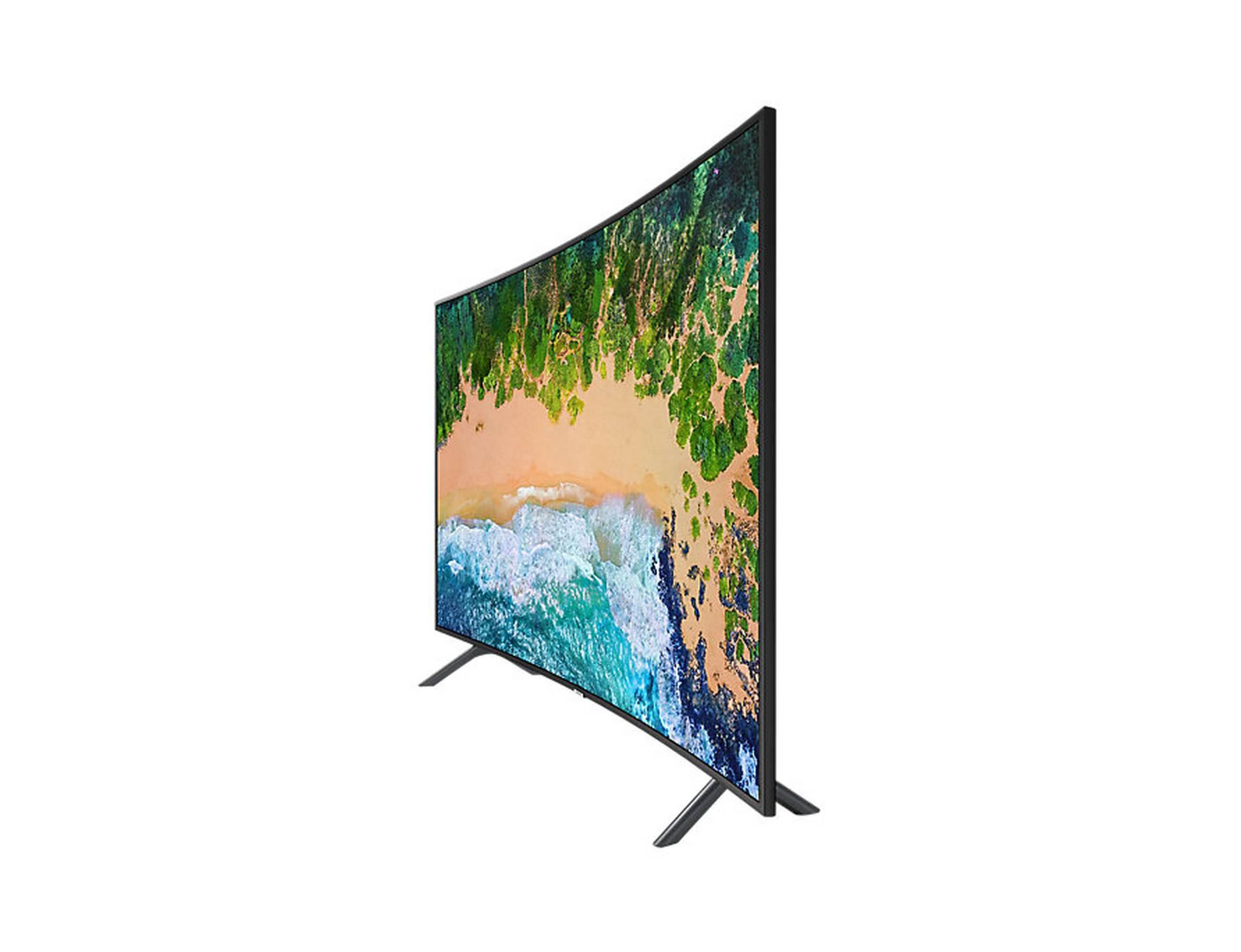 """49"""" Samsung UE49NU7300 4K Ultra HD Curved HDR Smart LED TV"""