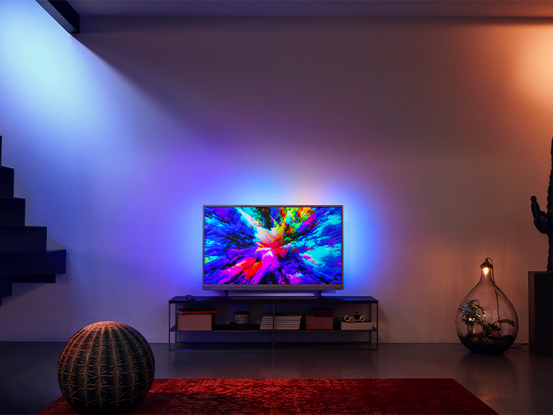 """49"""" Philips 49PUS7503 Ambilight 4K HDR Android Smart LED TV"""