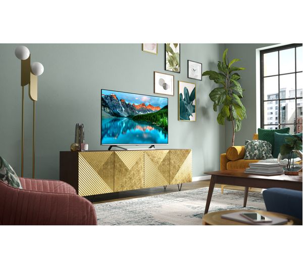 "50"" Hisense 50U7QFTUK Premium 4K HDR Smart QLED TV"