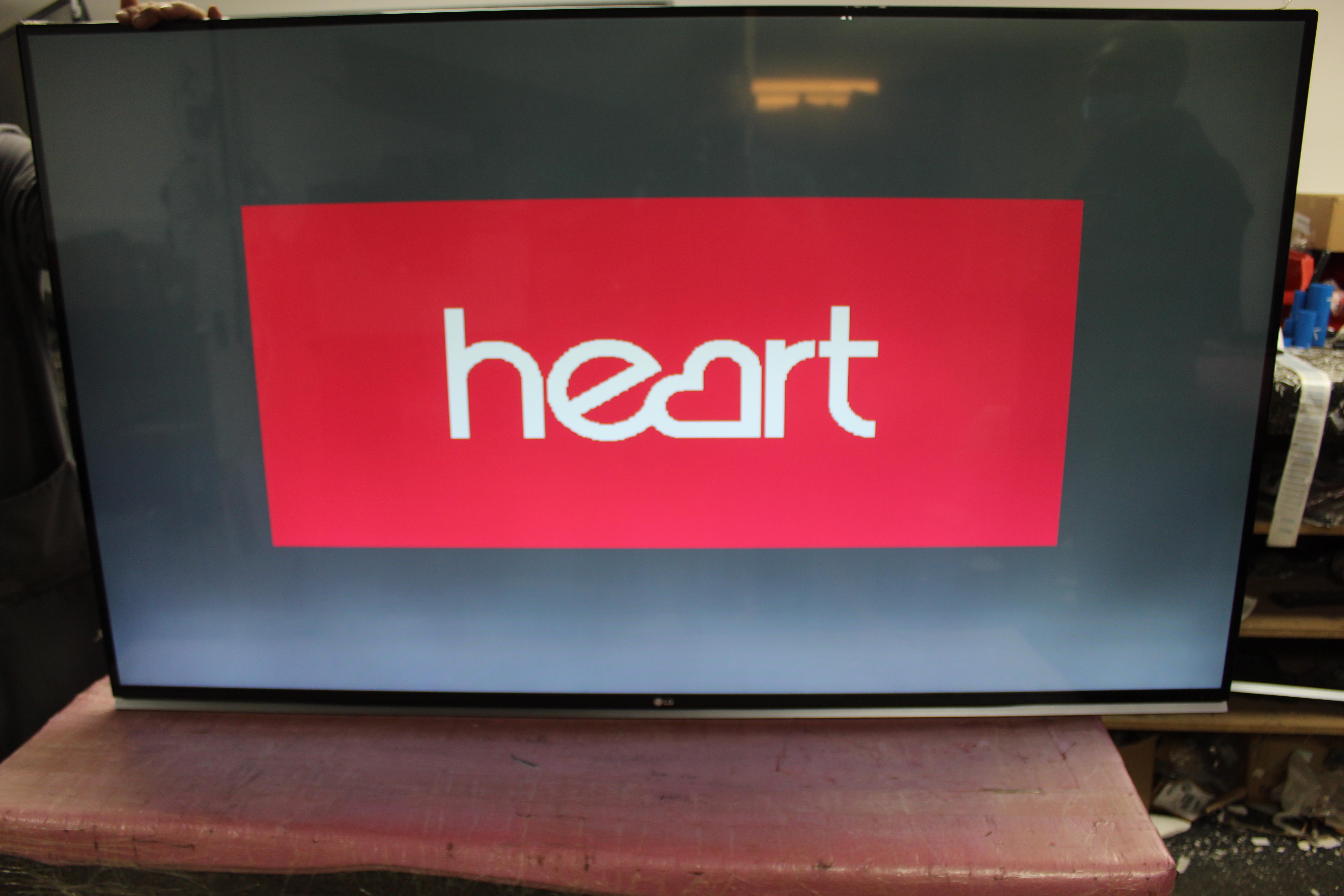 60 LG 60UF850V 4k Ultra HD Freeview HD Smart 3D LED TV