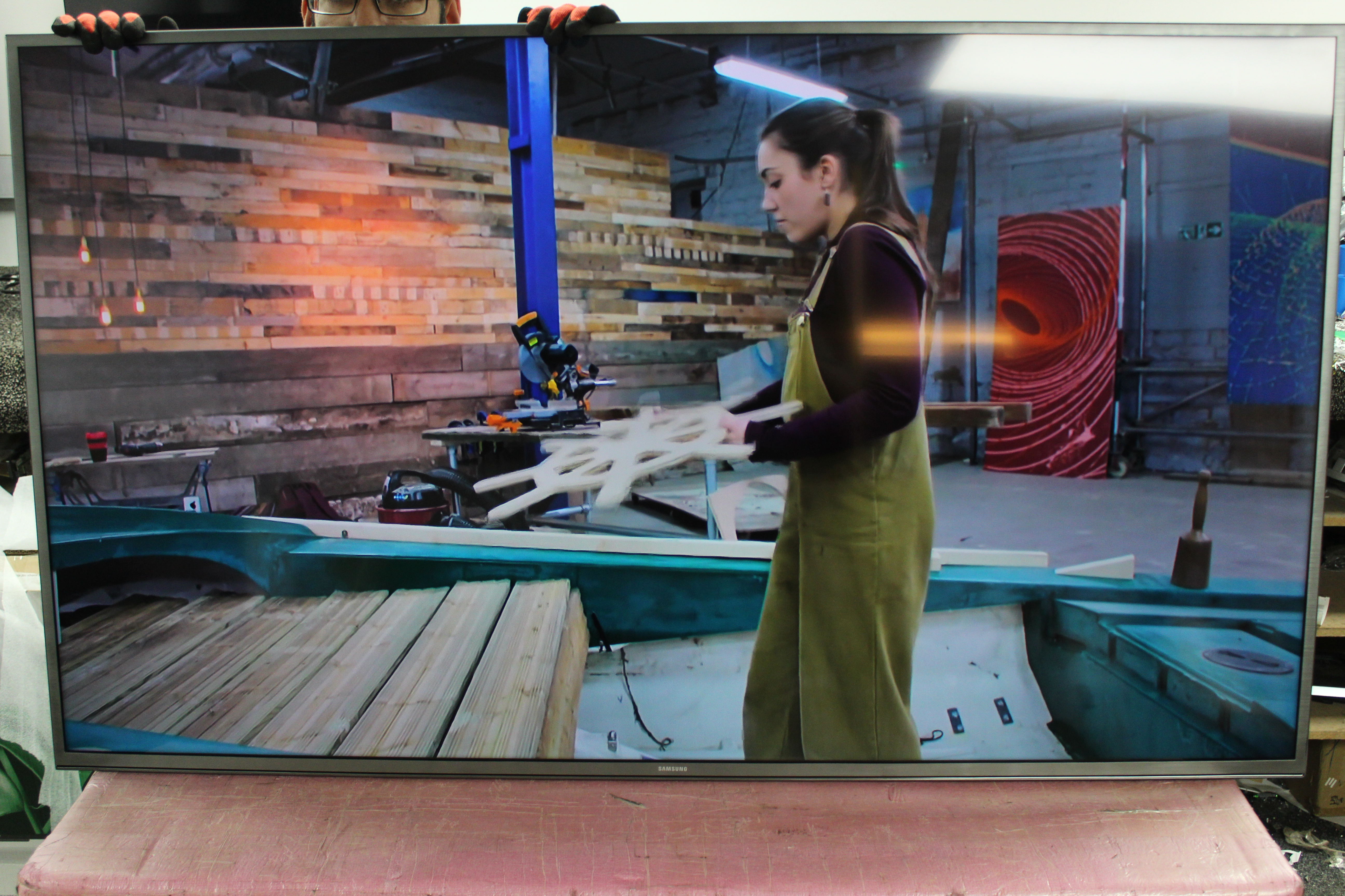 "60"" Samsung UE60JU6800 Ultra HD 4K Freeview HD Smart LED TV"
