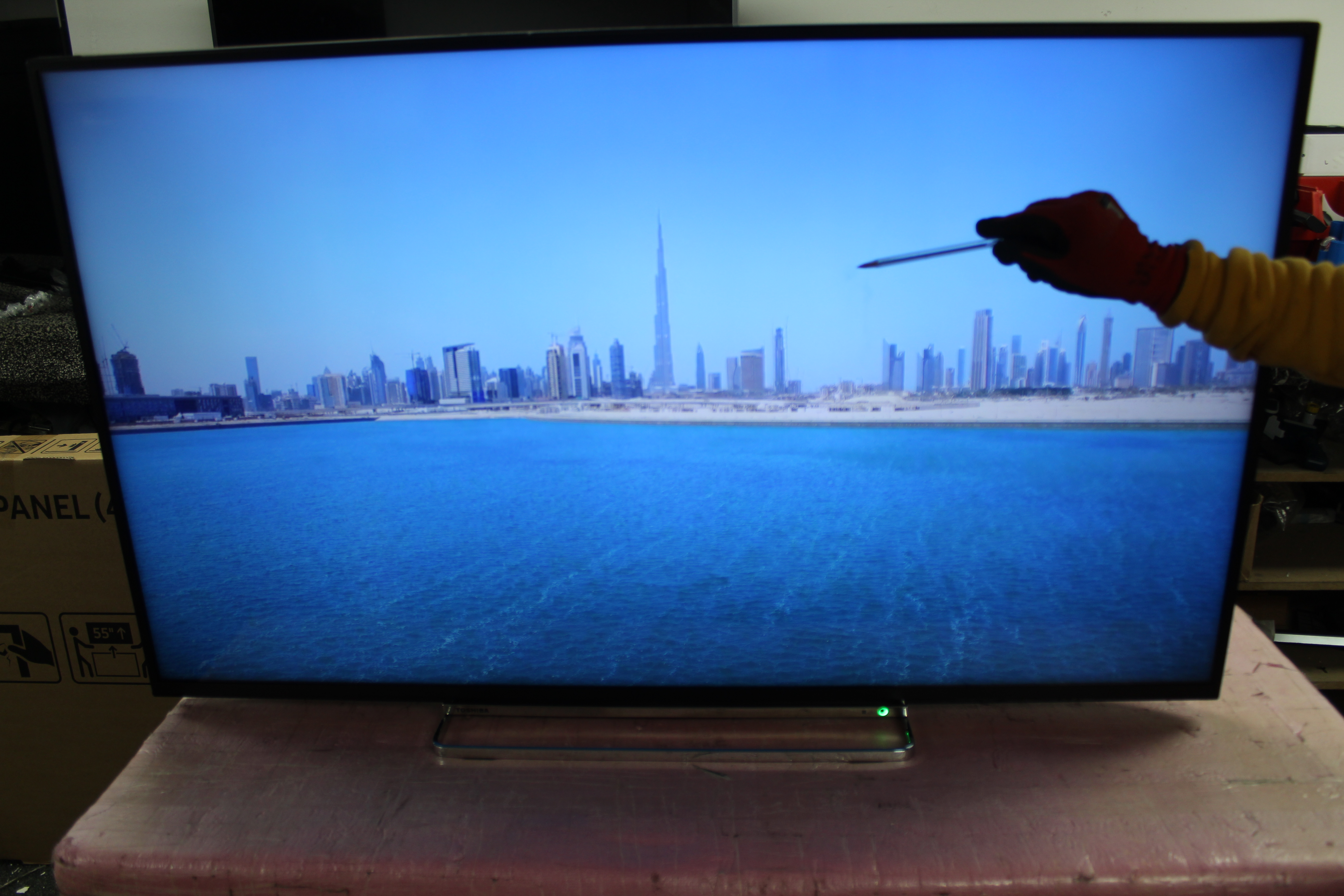 "50"" Toshiba 50VL5A63DB 4K Ultra HD HDR Freeview Play Smart LED TV"