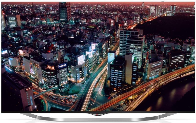 """55"""" LG 55UB850V 4k Ultra HD Freeview HD Smart 3D LED TV"""