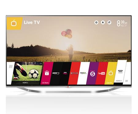 55 LG 55LB700V Full HD 1080p Freeview HD Smart 3D LED TV