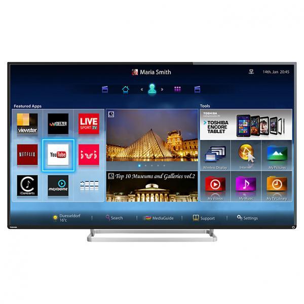 47 Toshiba 47L7453DB Full HD 1080p Freeview HD Smart LED 3D TV