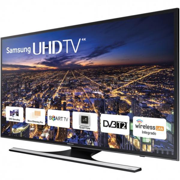 48 Samsung UE48JU6472 4k Ultra HD Freeview HD Smart LED TV