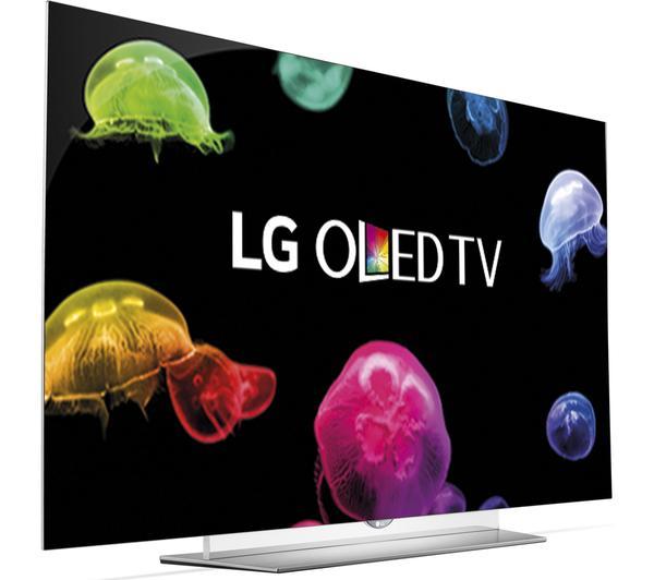 """65"""" LG 65EF950V OLED 4K Ultra HD Freeview HD Smart 3D TV"""