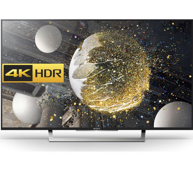 49 Sony KD49XD8305BU 4k Ultra HD HDR Freeview HD Android Smart LED TV