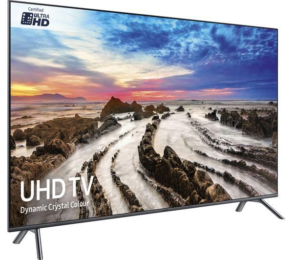 "49"" Samsung UE49MU7070 4K Ultra HD Freeview Freesat HD Smart LED HDR TV"