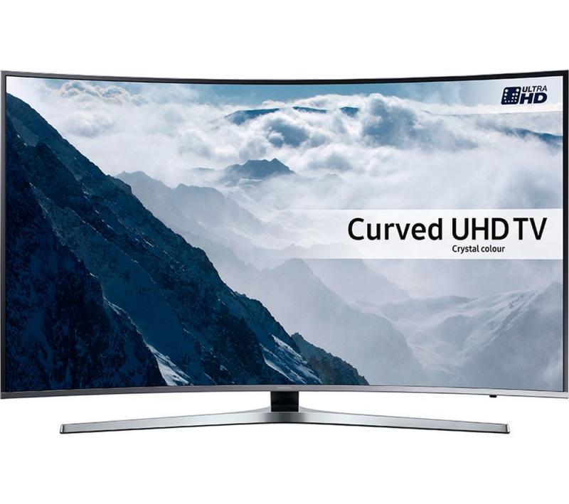 43 Samsung UE43KU6670 Curved Ultra HD HDR 4K Freeview HD Smart LED TV