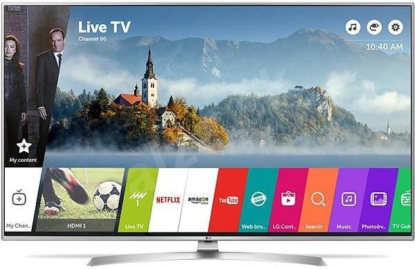 55 LG 55UJ701V 4K Ultra HD Freeview Freesat HD HDR Smart LED TV