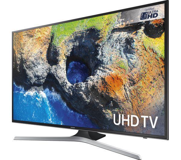 "75"" Samsung UE75MU6100 4K Ultra HD HDR Freeview HD Smart LED TV"