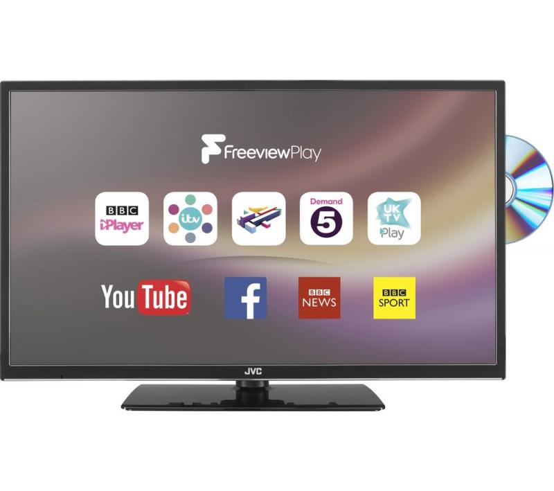 "32"" JVC LT32C675 HD Ready Digital Freeview Smart LED DVD TV"