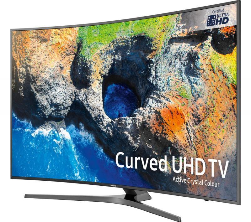 "49"" Samsung UE49MU6670 Curved Ultra HD HDR 4K Freeview HD Smart LED TV"