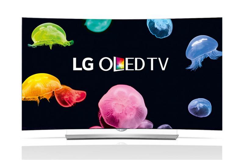 65 LG 65EG960V Curved 4K OLED Ultra HD Freeview HD Smart 3D TV