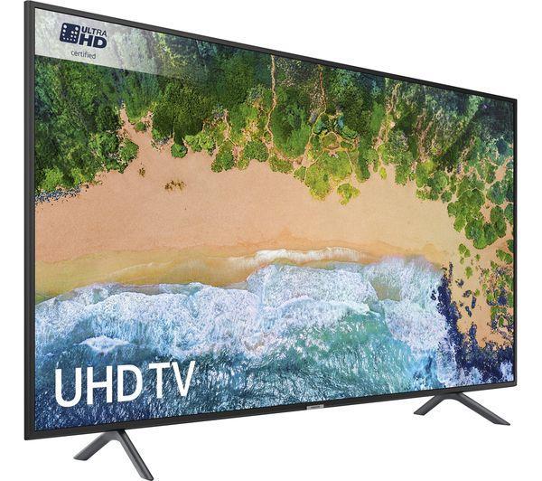 """65"""" Samsung UE65NU7100 4K Ultra HD HDR Smart LED TV"""