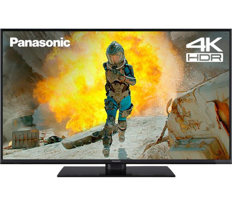"49"" Panasonic TX-49GX555B 4K Ultra HD HDR Smart LED TV"