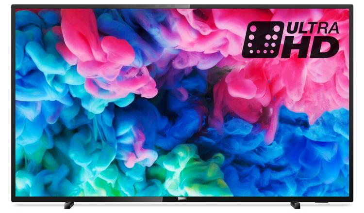 "55"" Philips 55PUS6503 4K Ultra HD HDR Smart LED TV"