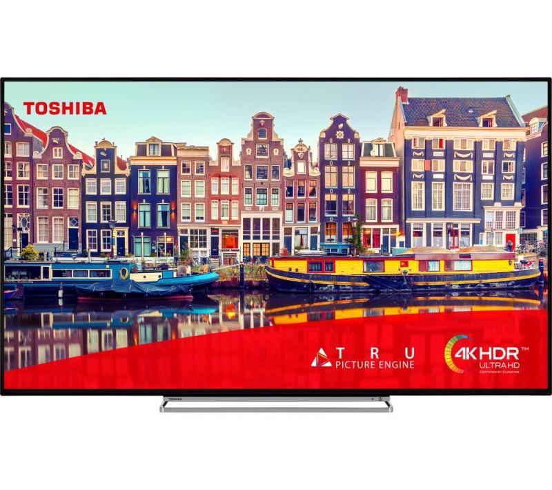 "65"" Toshiba 65VL5A63DB 4K Ultra HD HDR Freeview Play Smart LED TV"
