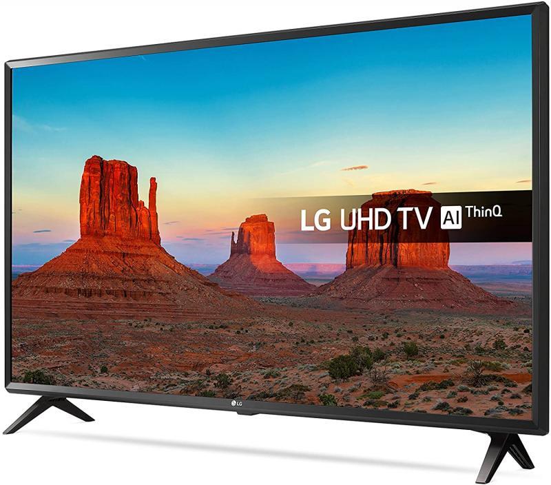 "49"" LG 49UK6300PLB 4K Ultra HD HDR Freeview Freesat HD Smart LED TV"