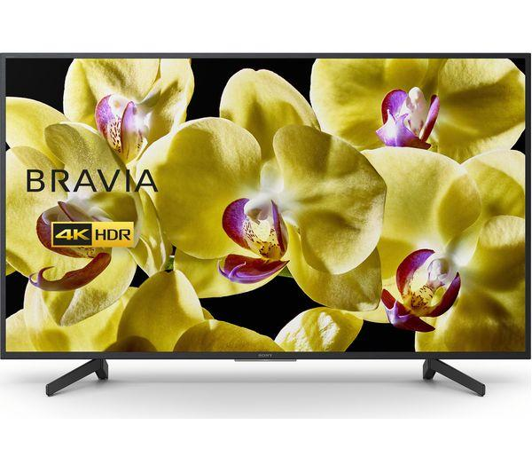 "65"" Sony Bravia KD65XG8096BU 4K HDR Android Smart LED TV"