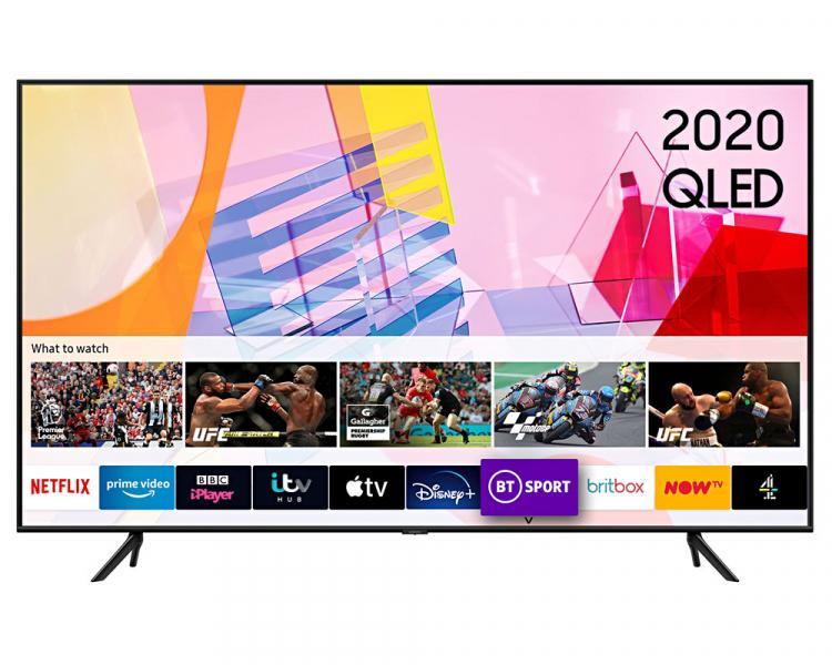 "58"" Samsung QE58Q60TAUXXU Crystal 4K Quantum HDR Smart QLED TV"