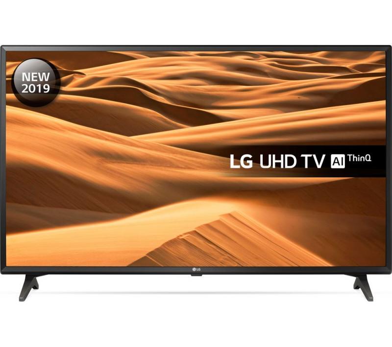"49"" LG 49UM7000PLA 4K HDR Freeview Play Smart LED TV"