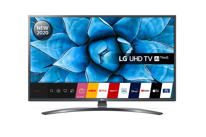 "65"" LG 65UN74006LB 4K Ultra HD HDR Smart LED TV"