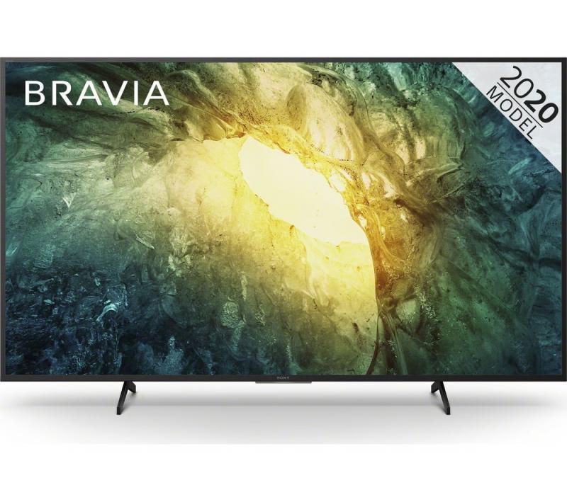 "55"" Sony KD55X7052PBU 4K HDR Smart LED TV"