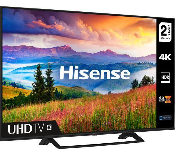 "55"" Hisense 55A7300FTUK 4K Ultra HD HDR Freeview Play Smart LED TV"