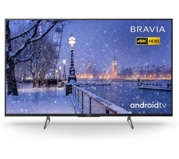 "49"" Sony Bravia KD49XH8505BU 4K HDR Android Smart LED TV"
