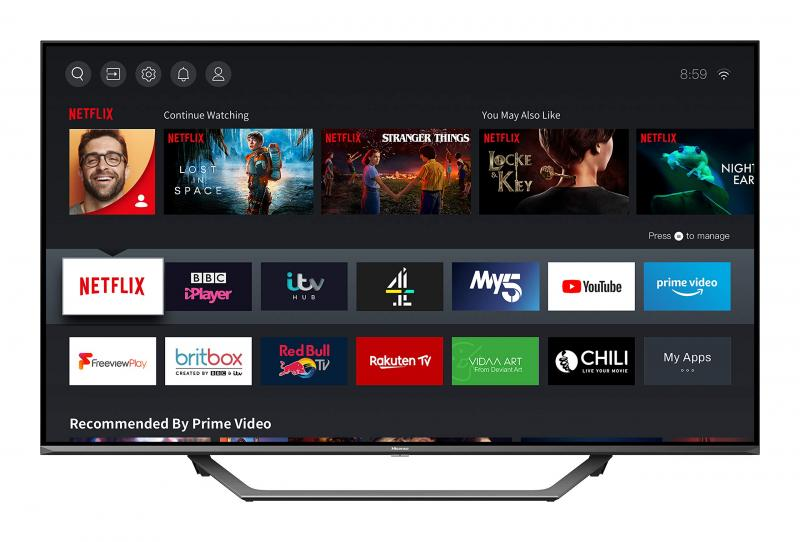 "50"" Hisense 50AE7400FTUK 4K HDR Smart LED TV"