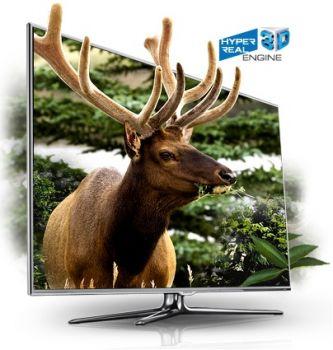 46 Samsung UE46D8000 Full HD 1080p Digital Freeview 3D LED TV